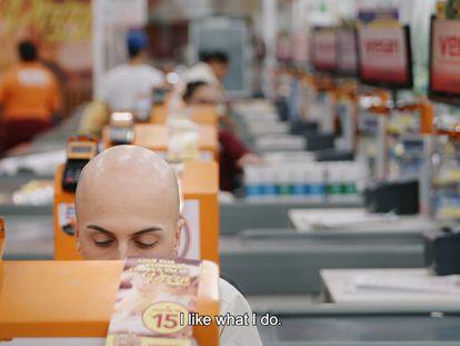 Danilo de Melo Santos em um fotograma do documentário.