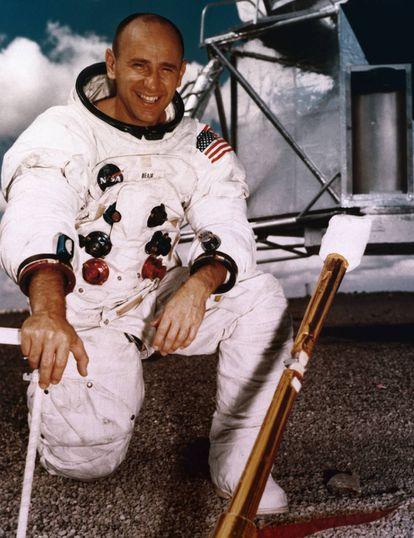 Alan Bean, astronauta e depois pintor.
