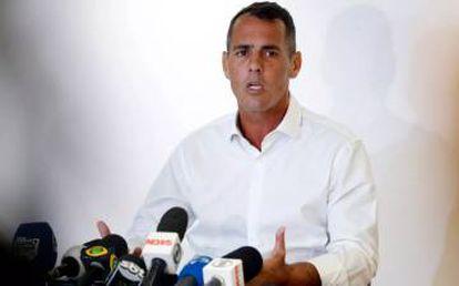 O vereador Marcelo Siciliano (PHS).
