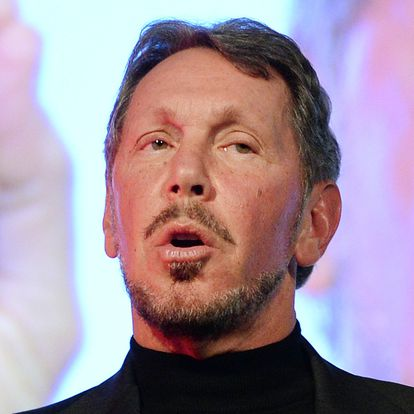 (FILES) In this file photo taken on April 08, 2014, Larry Ellison, CEO of Oracle Corporation, speaks during the New Economy Summit 2014 in Tokyo on April 9, 2014. - Silicon Valley is seeing departures of some of its high-profile stars as a pandemic-linked shift to remote work and political polarization have dulled the allure of the key tech industry hub. Nightmarish traffic and high living costs were already causing disenchantment even before the pandemic spoiled the serendipity of the northern California destination for top talent. Droughts and rampant wildfires have also taken a toll. Those leading the exodus include Tesla chief Elon Musk and Oracle founder Larry Ellison along with Palantir co-founder Peter Thiel and the data analytics firm's chief executive Alex Karp. (Photo by TORU YAMANAKA / AFP)