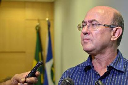 José Riva, na Assembleia Legislativa, em 2014.