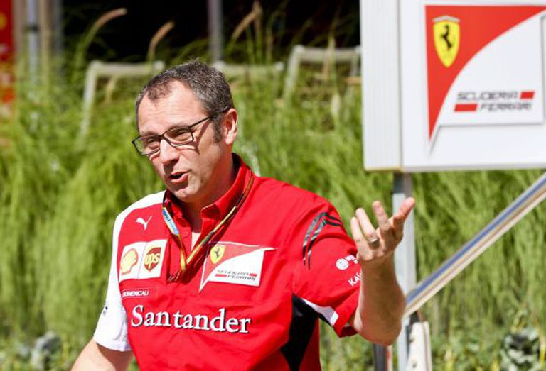 Stefano Domenicali, durante o GP do Bahrein.