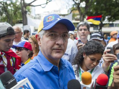 Antonio Ledezma, prefeito de Caracas, em abril de 2014.