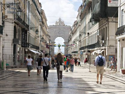 Rua Augusta, em Lisboa (Portugal).