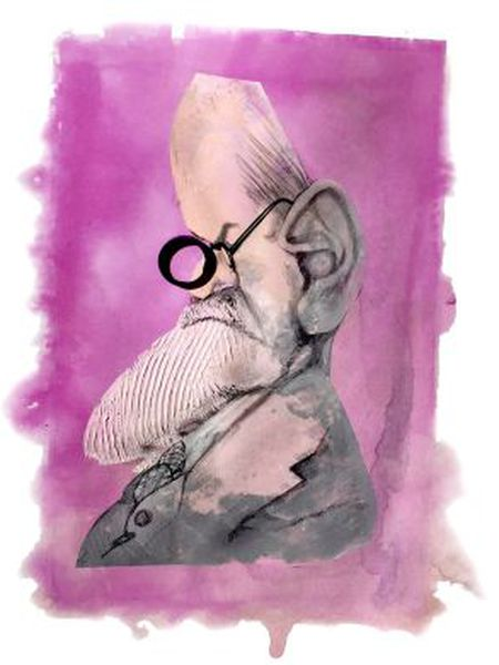 Freud visto por Sciammarella.