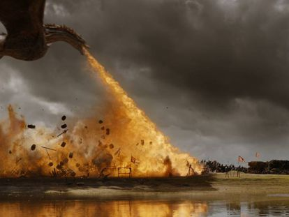 Fotograma da sétima temporada de 'Game of Thrones'.