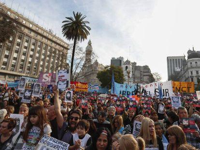 Protestos na Praça de Maio