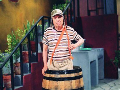 Na imagem, o ator Roberto Gómez Bolaños, conhecido como 'Chespirito'.