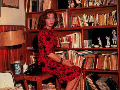 A escritora Clarice Lispector, em uma imagem de arquivo.