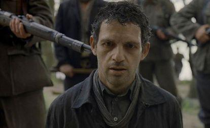Cena do filme 'O filho de Saul'.