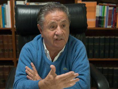 O ex-presidente peronista.