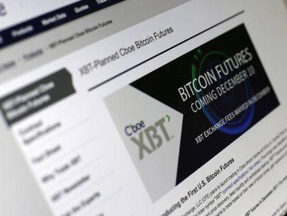 Portal eletrônico do Chicago Board Options Exchange,