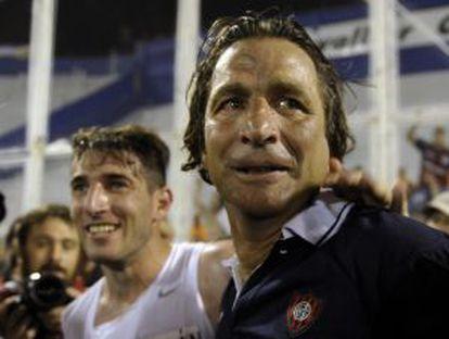 Pizzi celebra o título com Piatti
