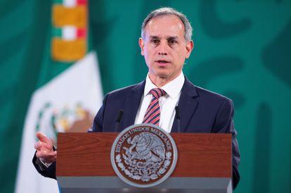 O subsecretário mexicano de prevenção e promoção da Saúde, Hugo López-Gatell, em 23 de março.