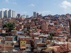 Paraisópolis, una de las mayores favelas de São Paulo con 75.000 habitantes.