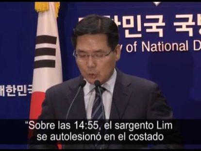 Soldado sul-coreano que matou cinco colegas foi capturado.