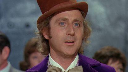 """Gene Wilder, em """"A Fantástica Fábrica de Chocolate'."""