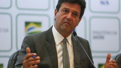 O ministro da Saúde, Luiz Henrique Mandetta.   17/03/2020 ONLY FOR USE IN SPAIN