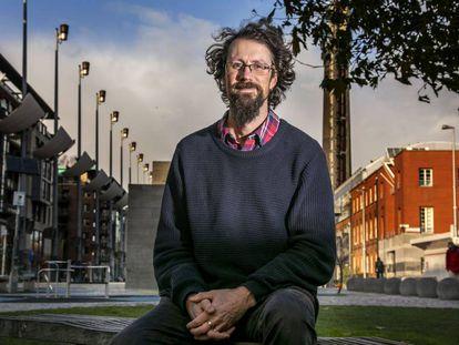 Paul Kingsnorth em Dublín em novembro de 2019.