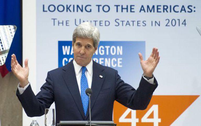 O secretário de Estado, John Kerry.