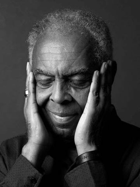 Cantor Gilberto Gil.