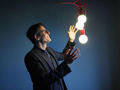 O astrofísico suíço Didier Queloz, ganhador do Nobel de Física 2019.