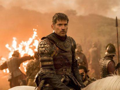 O ator Nikolaj Coster-Waldau em uma cena de 'Game of Thrones'.