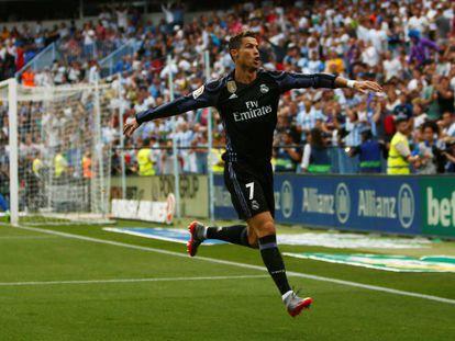 Cristiano Ronaldo abriu o placar para o Real.