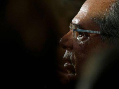 O ministro Guedes no dia 20.