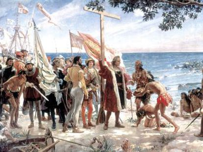 Historiadores espanhóis e americanos negam que o navegante tenha sido um exterminador de indígenas, como se argumentou em Los Angeles para retirar sua estátua, ainda que divirjam sobre sua atuação