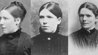Imagens no Museu Van Gogh, em Amsterdã, das irmãs do pintor, Anna, Willemien e Elisabeth. / MUSEU VAN GOGH EM AMSTERDÃ/ ARQUIVO TRALBAUT