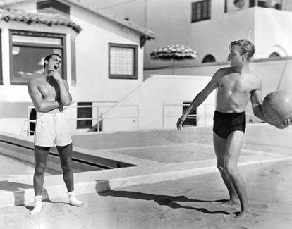 Cary Grant e Randolph Scott.