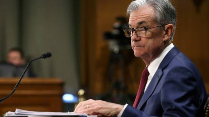 Jerome Powell, presidente do Federal Reserve.