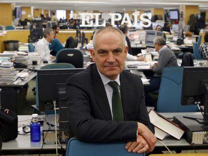 Antonio Caño, na redação do EL PAÍS.