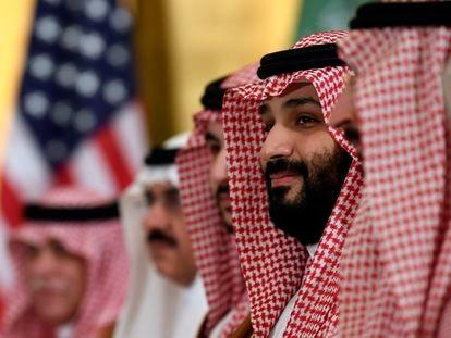 O príncipe herdeiro saudita Mohamed bin Salman em uma imagem de arquivo.