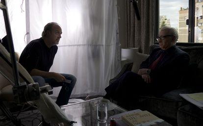 Kent Jones entrevista Martin Scorsese para o documentário.