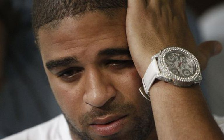 Adriano, em uma imagem de dezembro de 2010.