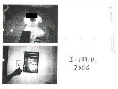 Imagem dos documentos publicados pelo Pentágono.