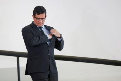 O ministro Sergio Moro.