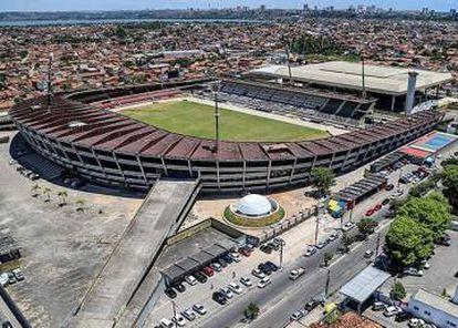 Reforma no estádio Rei Pelé, em Maceió, custou 17 milhões de reais.