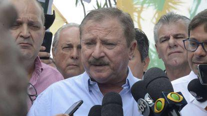 O ruralista Nabhan Garcia, após se reunir com Bolsonaro.