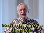 Caetano Veloso protesta contra o Governo Bolsonaro em seu perfil no Twitter.