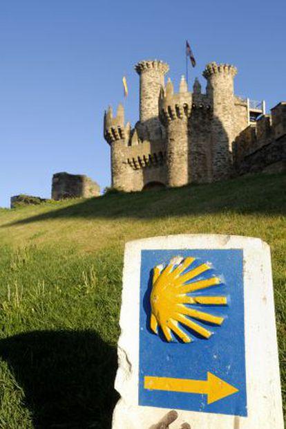 Castelo templário de Ponferrada, na província de León.