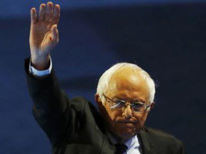 Em discurso na convenção democrata, senador prometeu continuar sua luta pela  revolução política