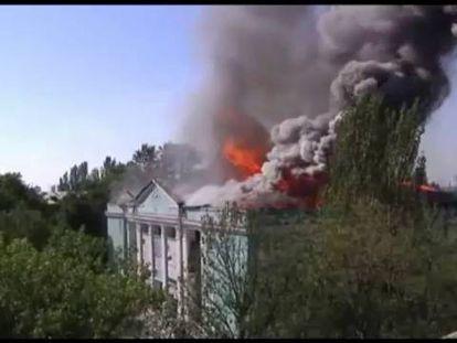 Os rebeldes ucranianos abrem uma terceira frente perto da fronteira russa