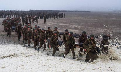 Imagem do filme 'Dunkirk'