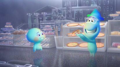 Imagem de 'Soul', da Pixar.