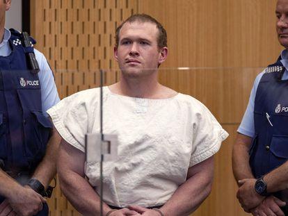 Brenton Tarrant, o acusado de matar mais de 50 pessoas em duas mesquitas de Christchurch, Nova Zelândia, em março passado.