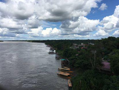 O Rio Acre serve de fronteira natural entre Bolívia, Peru e Brasil.