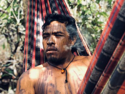 Paulo Paulino Guajajara, guardião da floresta assassinado no Maranhão em novembro de 2019.